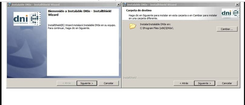 Install Software ID card