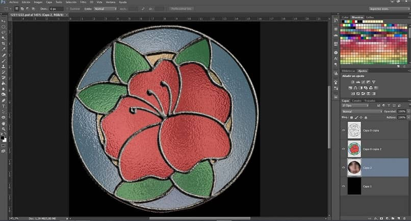 How to convert online photos or images to make stained glass designs?