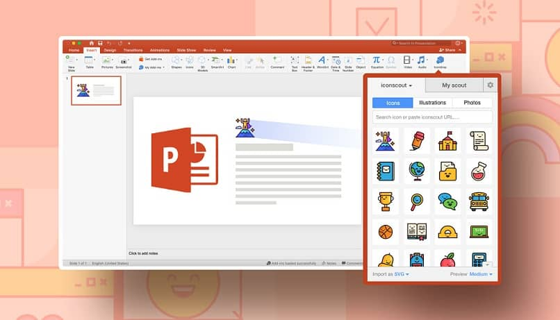 How to add an HTML object to PowerPoint step by step?