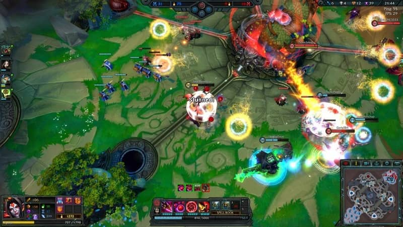 What Other MOBA Games are there like League of Legends? - Games like LoL (Example)