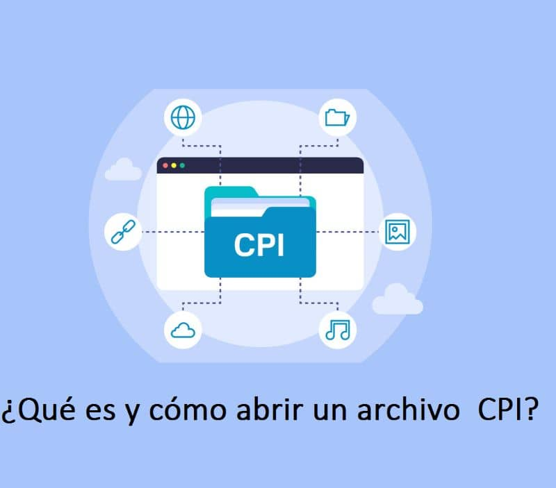 What is and how to Open a CPI File? Here we show you