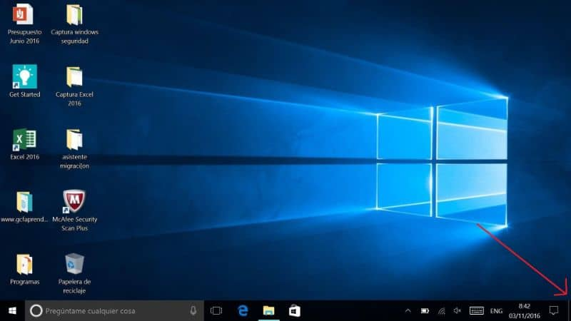 What is and how to disable Desktop Look or Aero Peek in Windows 10? (Example)