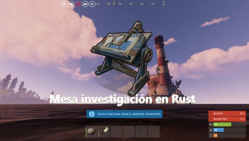 What is the Research Desk in Rust for?  How to use?