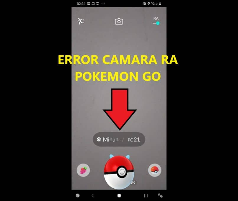 Why can't I View or Capture Pokemon in Pokemon GO with the AR Camera?
