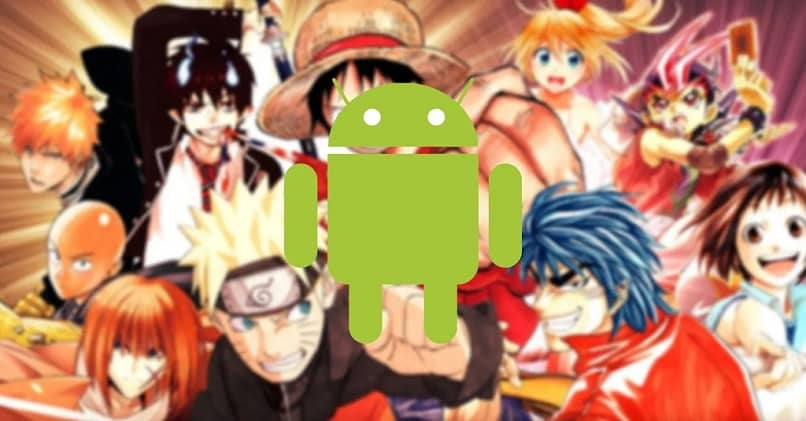 android anime background