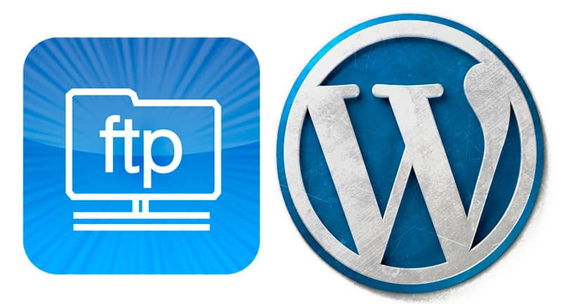 Accessing and upload configuration files to the hosting WordPress FTP