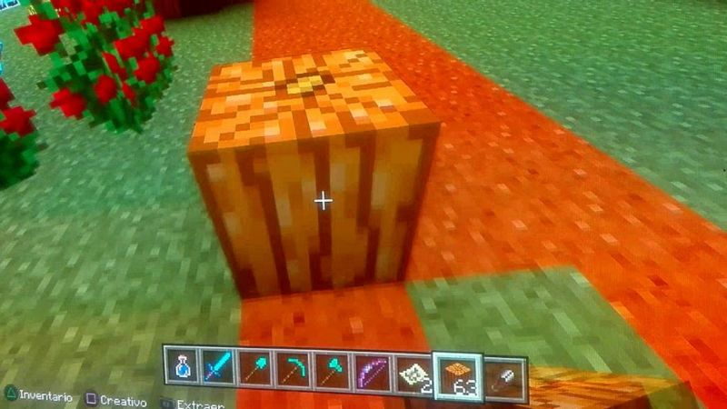 How To Get Minecraft or planting pumpkins in easily