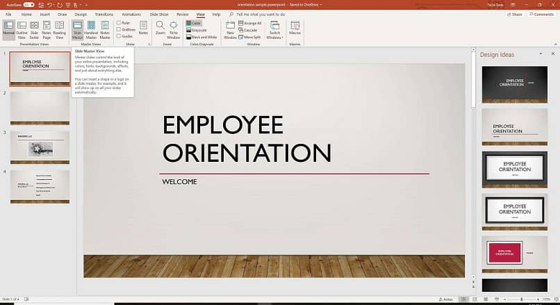 How to compare two PowerPoint slides side-by-side easily?