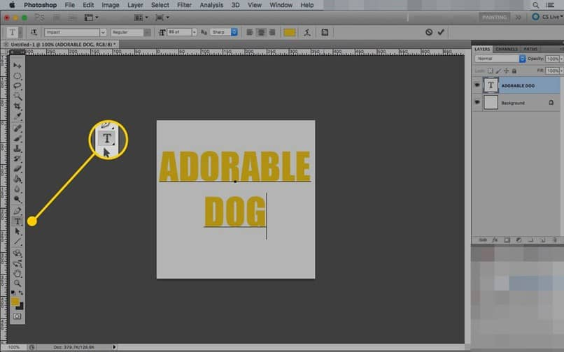 How to justify text in Photoshop if you can not - Easy and fast