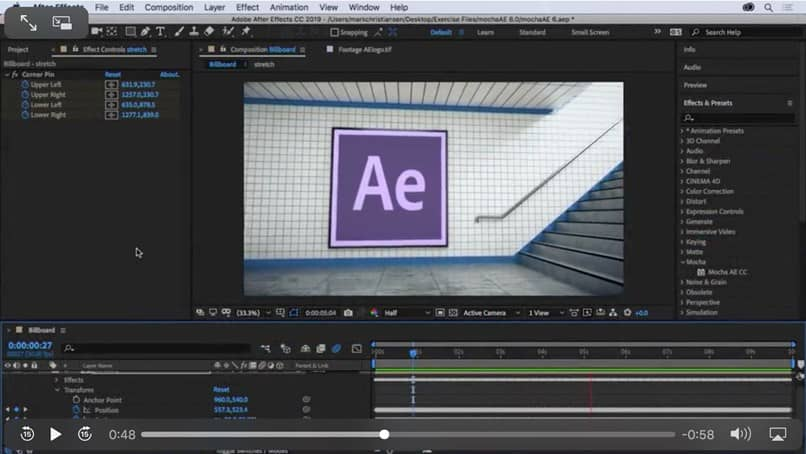 editor adobe after effects