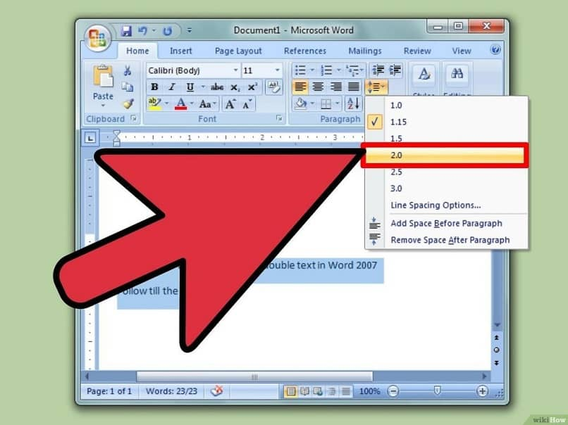 Inserting spaces between two words in text or Word easily