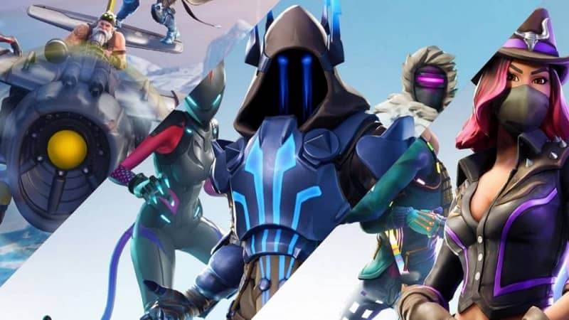main characters Fornite