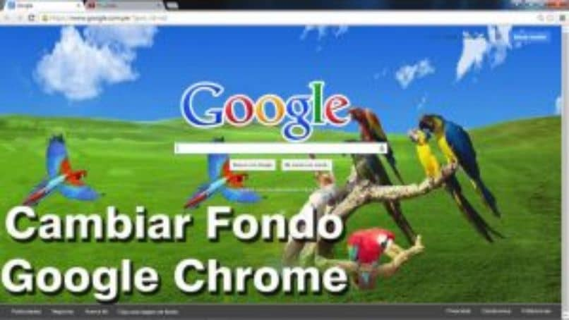 How To Change Or Customize The Background Image On Google Chrome