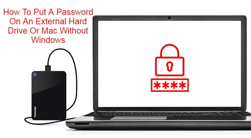 How To Put A Password On An External Hard Drive Or Mac Without Windows Programs