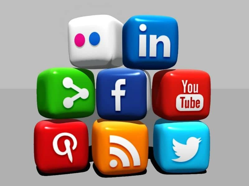 icons of social networks