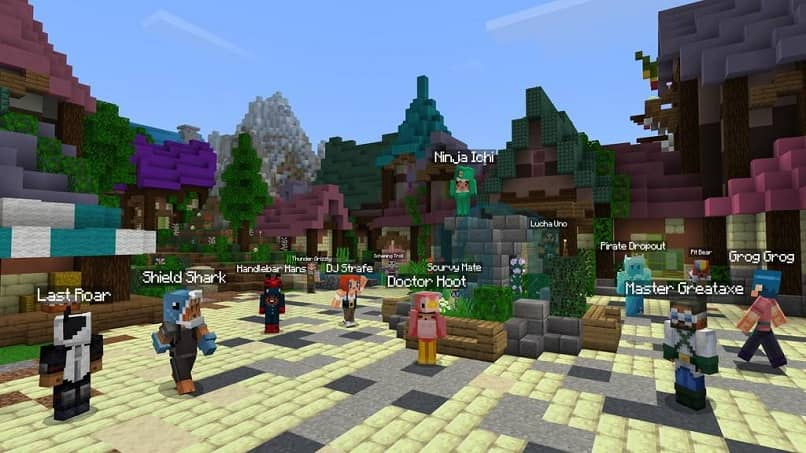 Minecraft a favorite among large and small