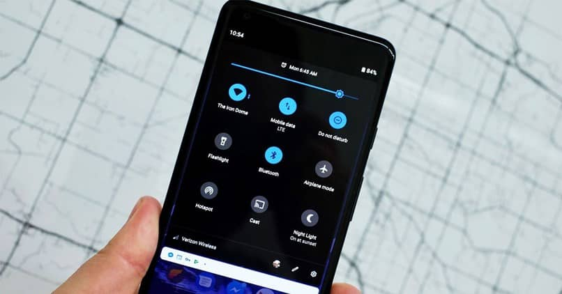 Activating The Android Notification Bar P In Another Android Without Root