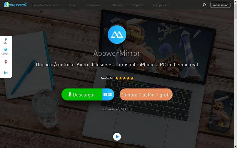 Viewing The Phone Display On My Windows Pc | Download Free Apowermirror