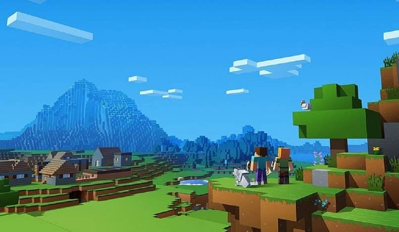 pantalla alternativa de minecraft