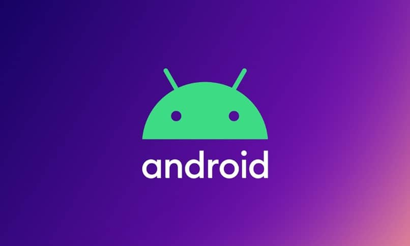 android purple background