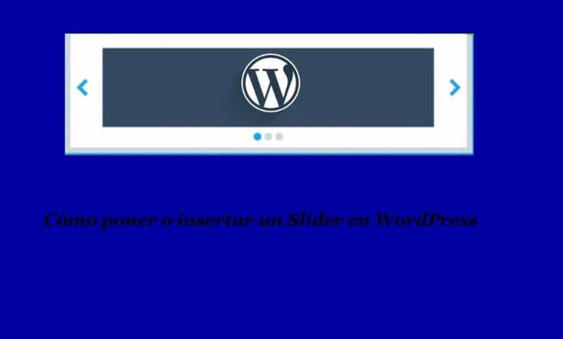 How To Insert A Slider Or Wordpress In Minutes