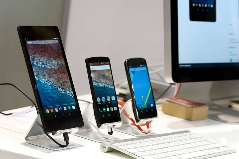 configure devices near an android