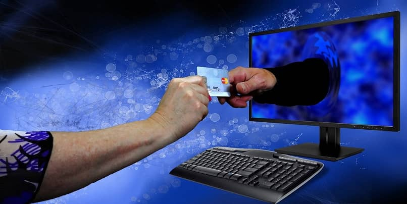 payments for purchases via web