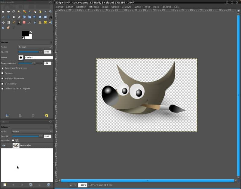 How To Convert Or Transform Gimp Interface In Photoshop?