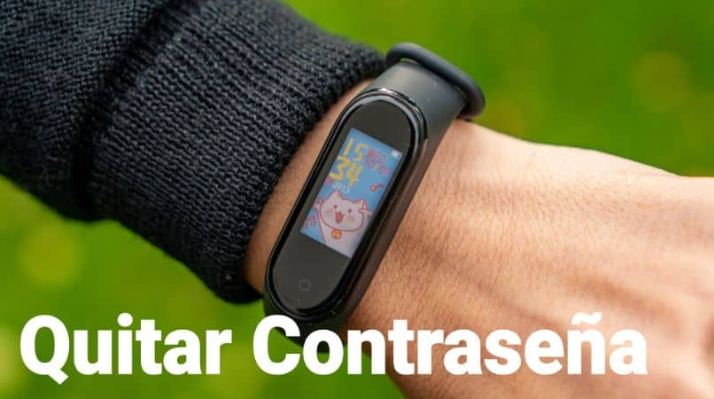How To Remove Or Delete The Password Or Pin Lock My Xiaomi Mi Band