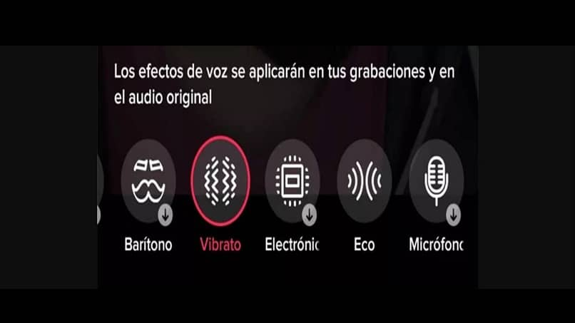 step by step to record a video using different voices with mobile