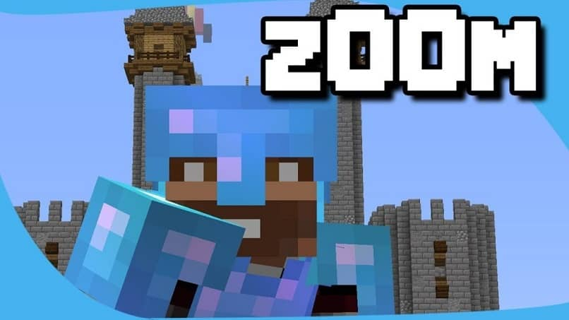 How To Zoom In Minecraft To See Things Up Close Very Easy! (Example)