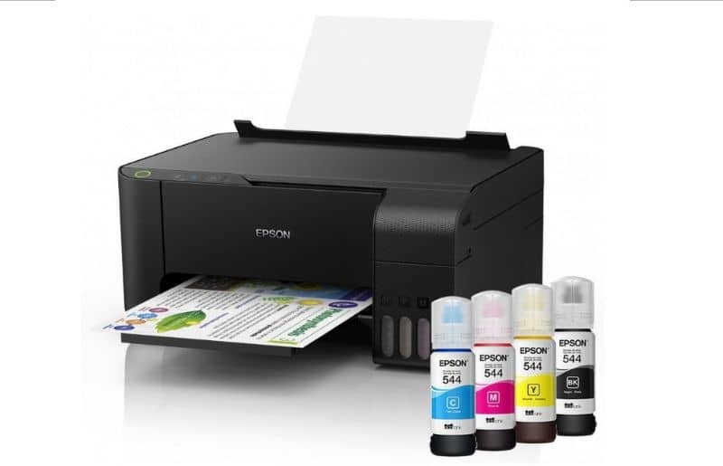 EPSON printer with cartridges
