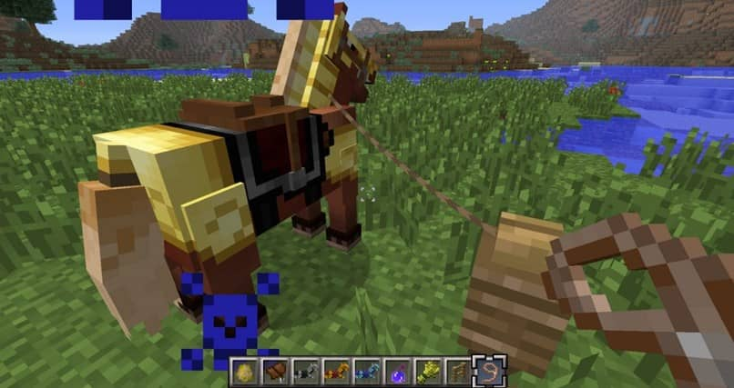 How to Make a Rein or a bow in Minecraft - Crafting Rein