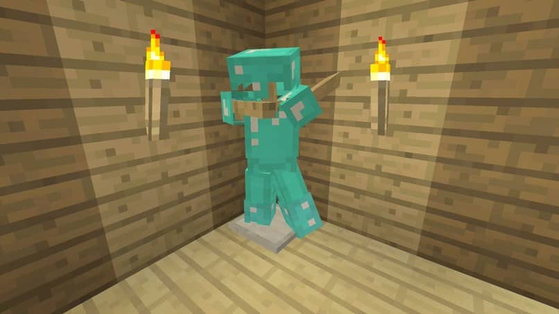 minecraft user armor