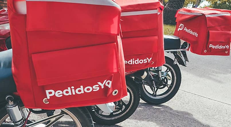 delivery by motorcycle orders already