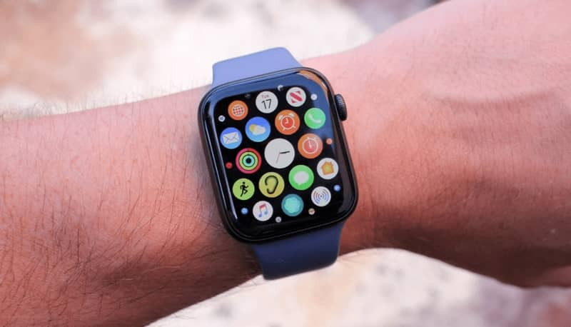 Arm with Apple Watch