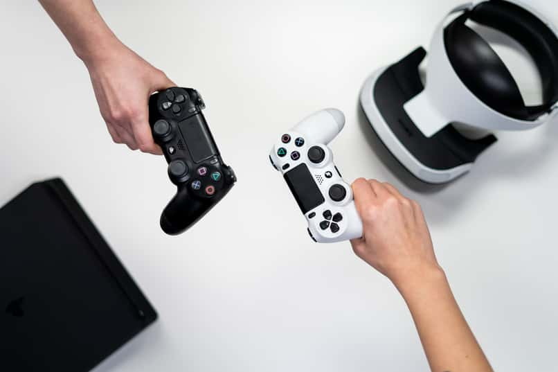 console controls for video games