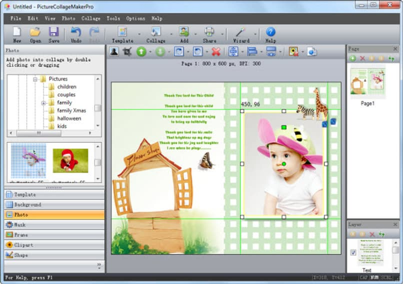 How to Make a Children's Birthday Invitation Card for Kids in Word
