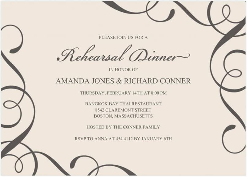 How to Make Invitation Cards in Word with Background Image to Print (Example)