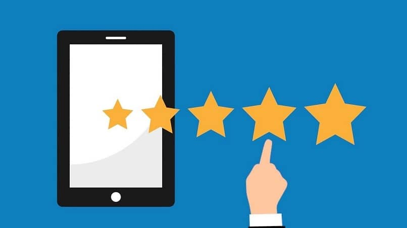mobile customer stars rate product quality