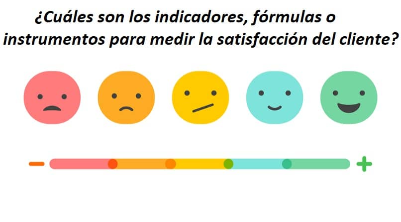What are the Indicators, Formulas or Instruments to Measure Customer Satisfaction?