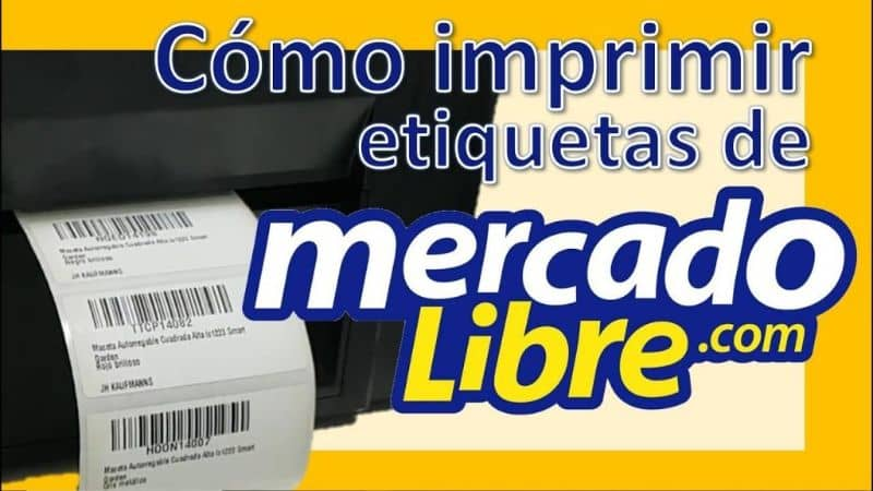 How to Print the Market Label Shipping in Mercado Libre Easily