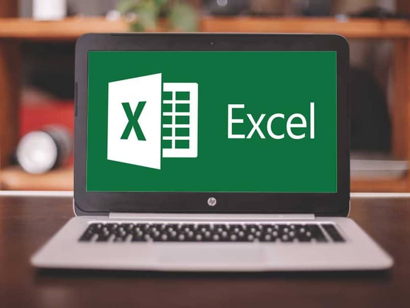 laptop with excel