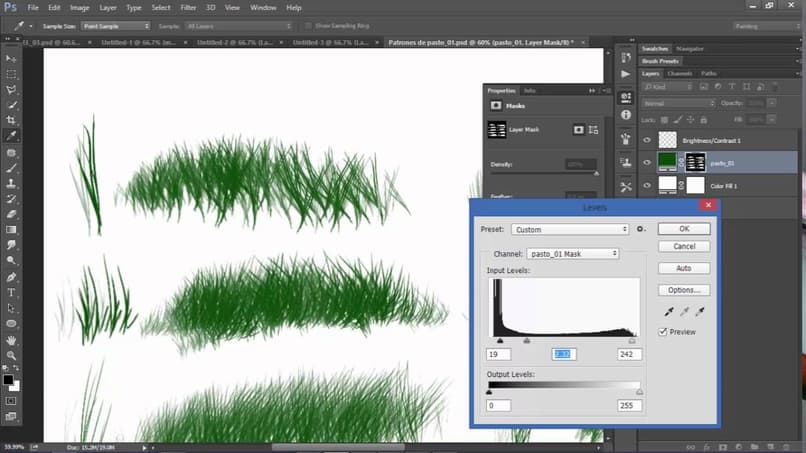 How to Make or Create the Grass, Grass, or Lawn Texture in Adobe Illustrator