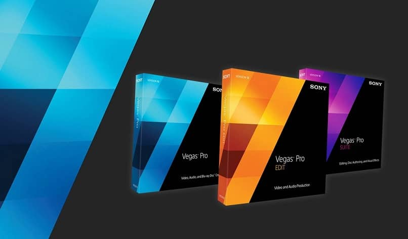 sony vegas packages