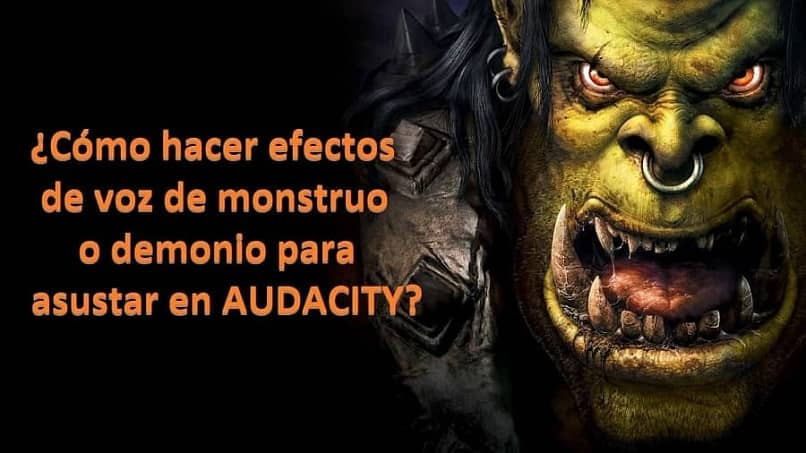 How to Make Monster or Demon Voice Effects to Scare AUDACITY