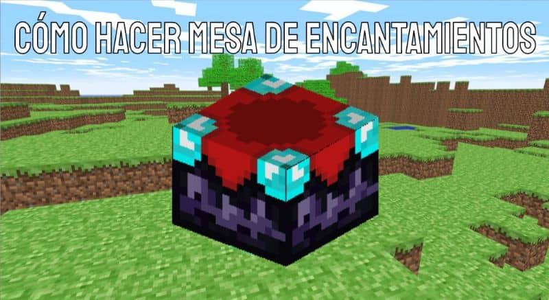 How to Make a Table of Enchantments in Minecraft Very Easy!