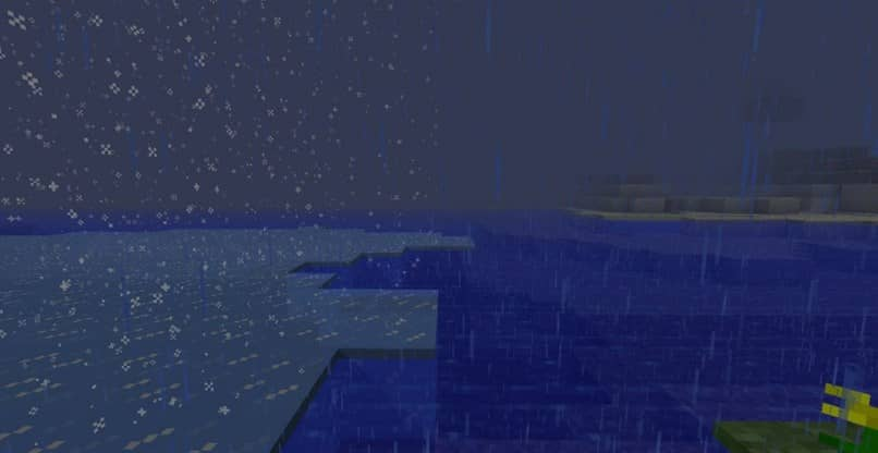 How to make it rain and stop it raining in minecraft - command for rain