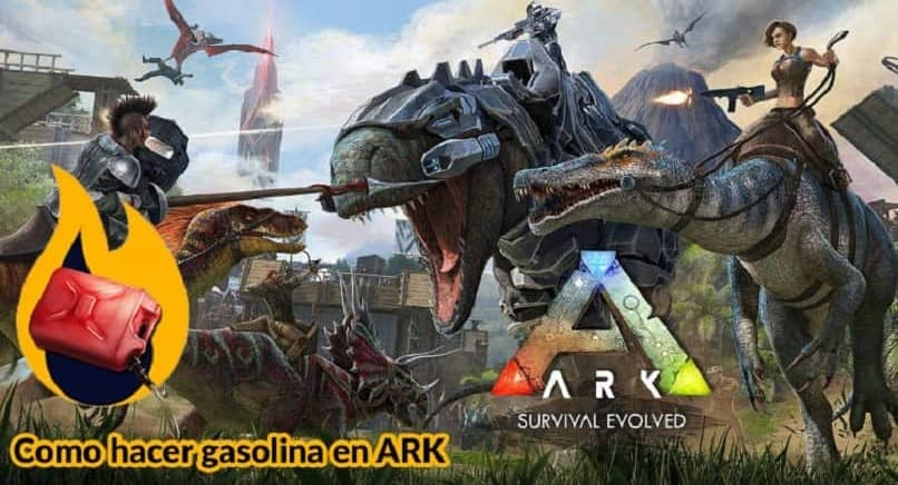 How to Make Gasoline or Fuel for Flamethrowers in ARK: Survival Evolved