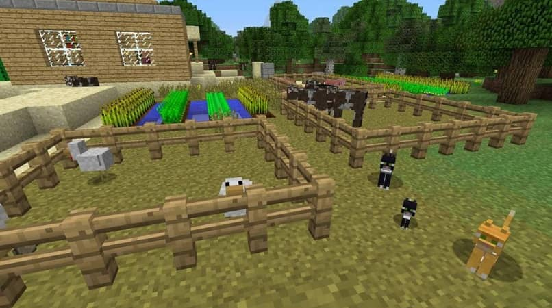 How to Make an Animal Farm in Minecraft? - Crafting on the Farm